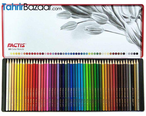 مدادرنگی 50 رنگ فکتیس (2)
