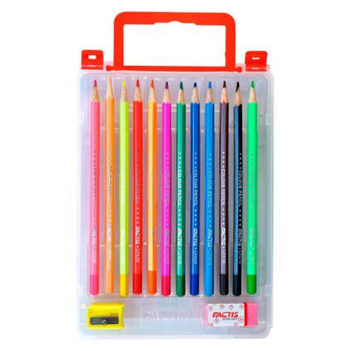 مداد رنگی 12 کیفی فکتیس